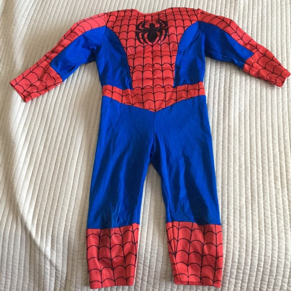 M_5b8705d67c979d836300885f & Hu0026M One Pieces | Spiderman Costume For Toddler | Poshmark